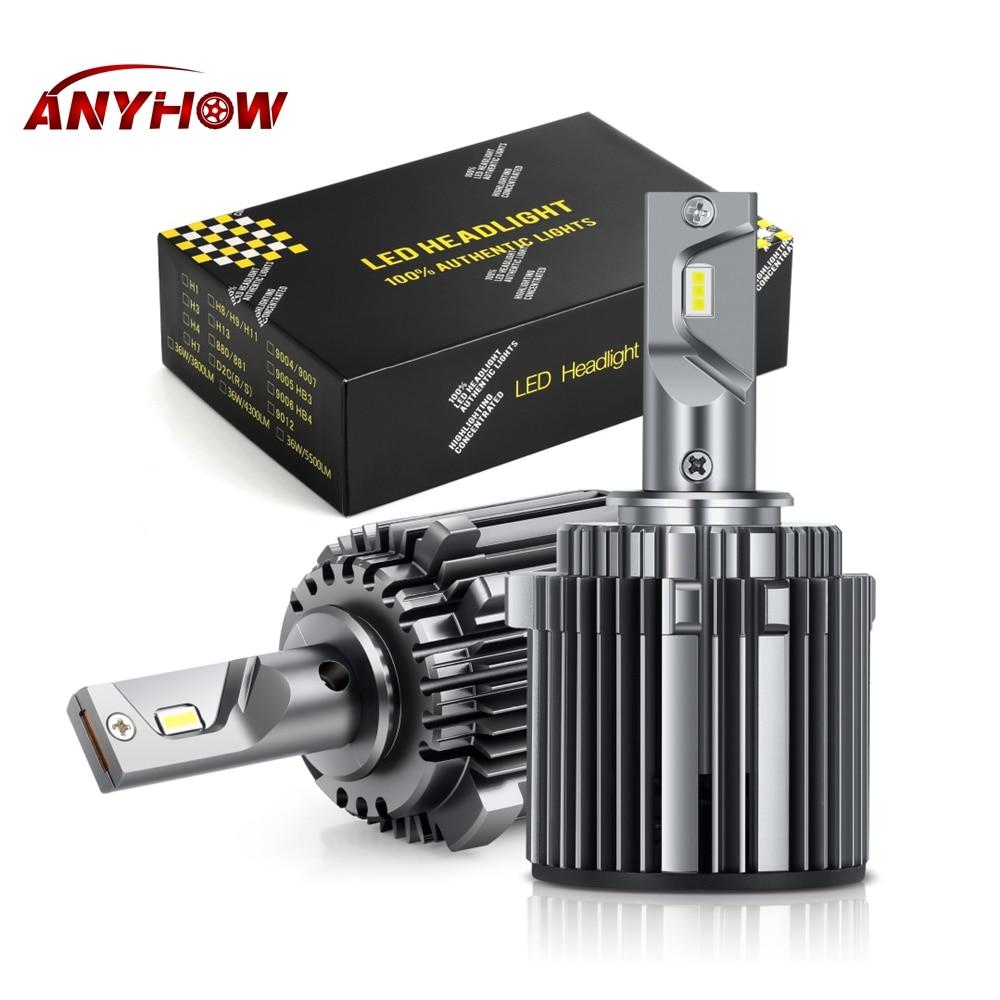 H7 Car LED Headlight 80W 6000K H15 H7 LED Headlamps Fog Lamp Bulbs Headlights For VW Golf 7 MK7 Turan High And Low Beam