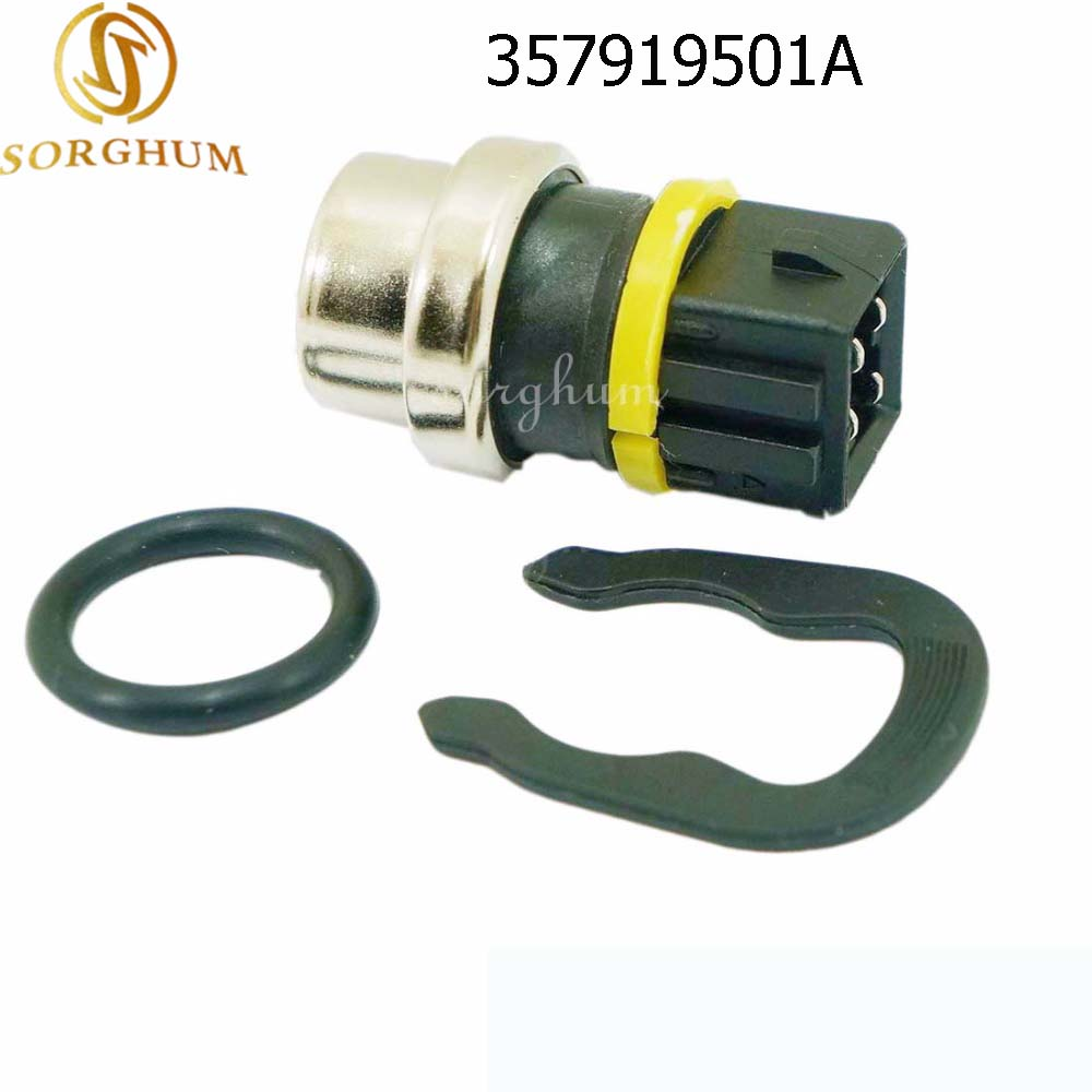 357919501A Water Coolant Temp Temperature Sensor 6U0919501B 357919501A 357 919 501A / 6U0 919 501B / 6U0 919 501 B