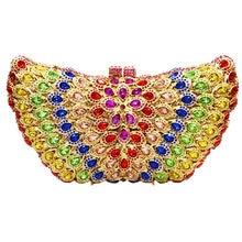 LaiSC Schmetterling Form Luxus kristall handtasche weiß diamant hochzeit frauen geldbörse pochette damen prom clutch abendtasche SC108