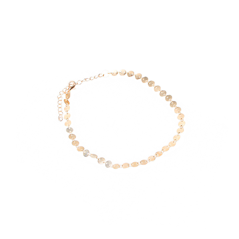 Women Simple Retro Copper Sequins Chorker Short Necklace For Women 2017 New Volunge Jewelry