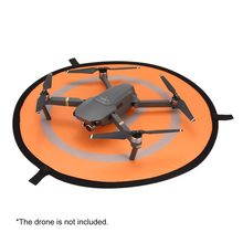 75cm Fast-fold Landing Pad Universal FPV Drone Parking Apron Waterproof Pad For DJI Spark Mavic FPV Racing Drone Helicopter(China)
