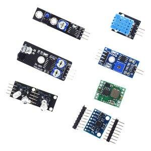 Image 5 - Dla arduino 45 w 1 czujniki moduły zestaw startowy lepiej niż 37in1 zestaw czujników 37 w 1 zestaw czujników UNO R3 MEGA2560