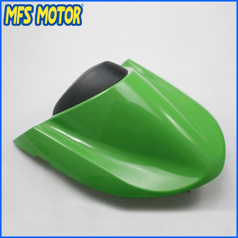 For NINJA ZX10R Motorcycle Accessories Rear Pillion All Green Injection ABS Seat Cowl Cover For Kawasaki NINJA ZX10R 2004 2005