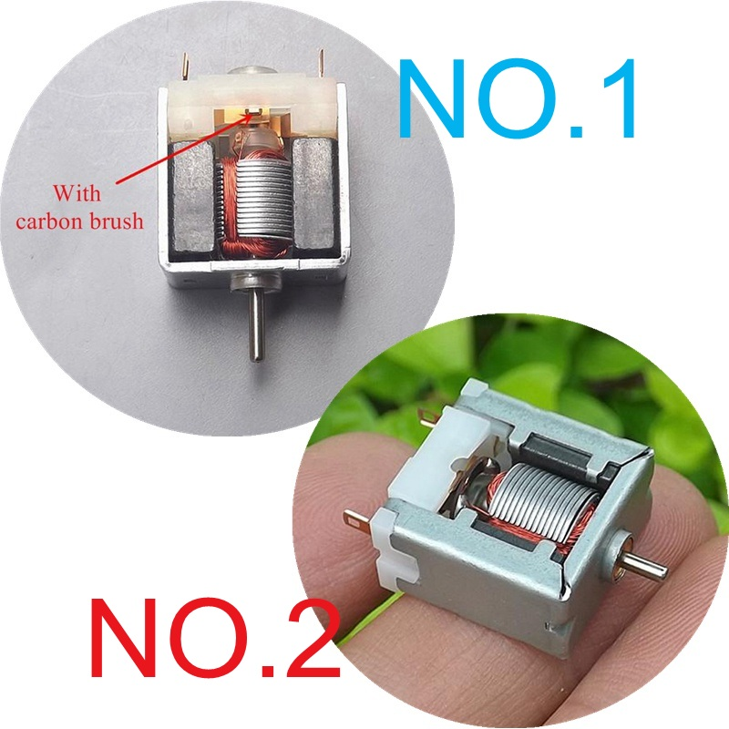1PCS DC5V 15000RPM 50mA High Speed 020 Motor Square For DIY Hobby Toy Model