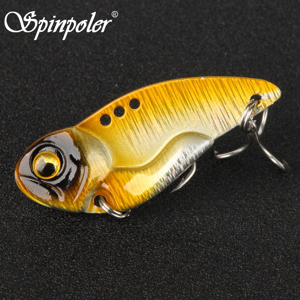 4pcs Colorful Metal 3g//7g Fishing Lure Bass VIB Bait Artificial Bait CicadaWBE