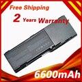 Nueva 6600 mah batería para dell inspiron 1501 6400 e1505 latitude 131l vostro 1000 td347 td349 ud260 ud264 ud265 ud267 xu937