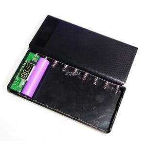 Image 4 - Portable Slim Dual Usb Led Licht 8X18650 Batterij Diy Power Bank Box Holder Case Voor Mobiele Telefoon Rental & Dropship