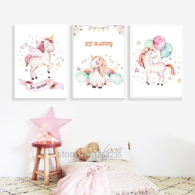 HTB1buRaIFGWBuNjy0Fbq6z4sXXan Nordic Babykamer Poster Cute Baby Girl Room Decor Cuadros Decoracion Salon Girls Canvas Art Painting Posters And Prints Unframed