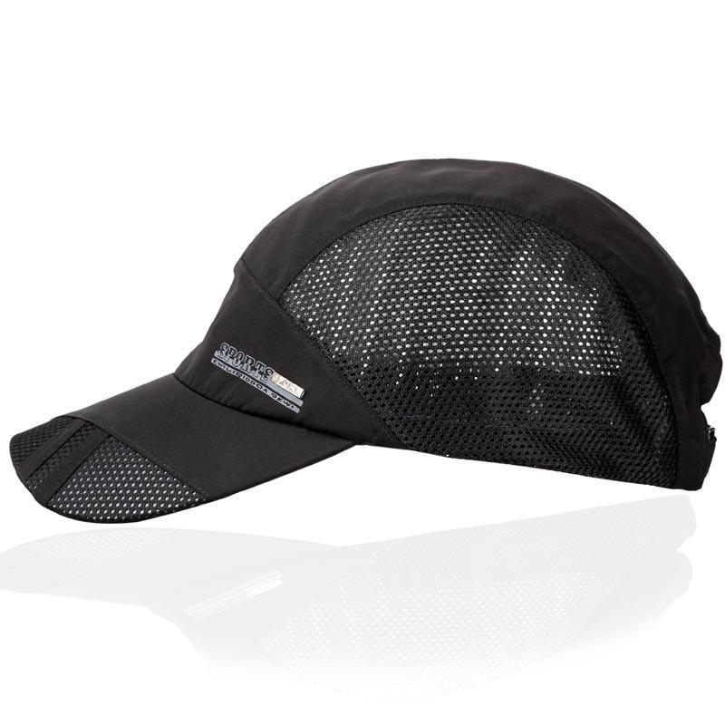 e0337f08a3f0 US $23.18  2015 Autumn Quick Dry Running Cap Gorras Hombre Pesas De  Bicicleta Hiking Hats For Men Hat Outdoor Golf Net Sports Gorra Pilas-in  Holidays ...