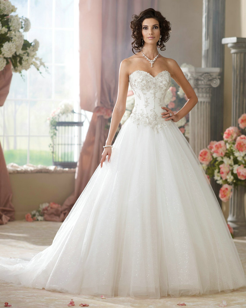 Stunning Princess Cut Wedding Dresses Ideas - Styles & Ideas 2018 ...