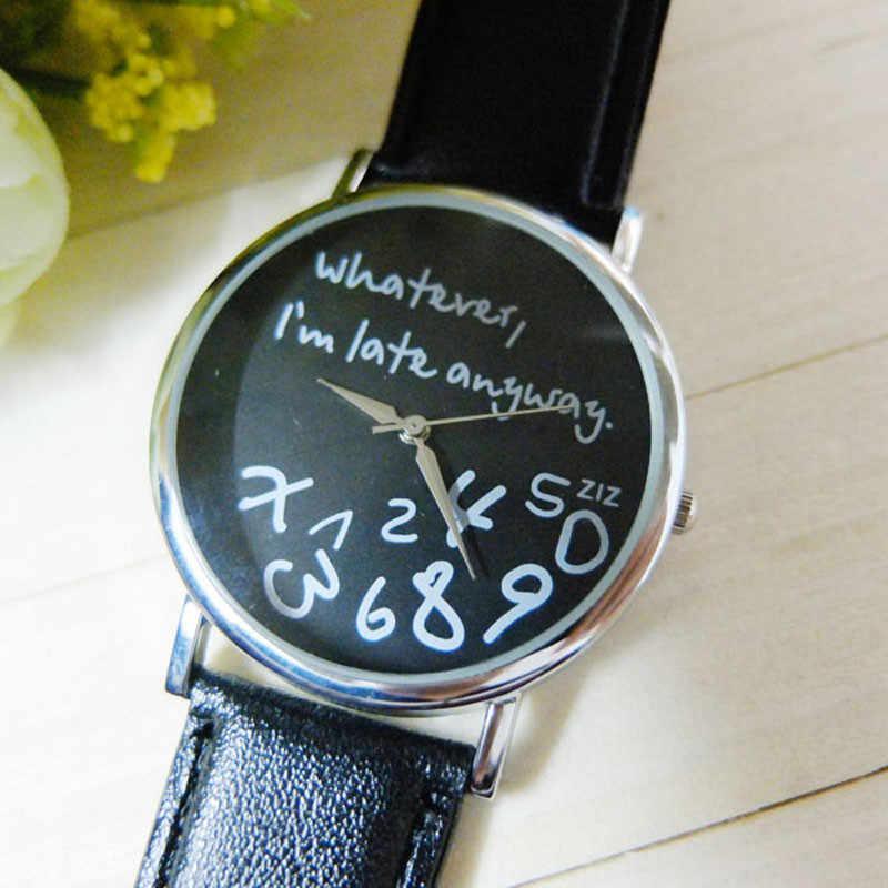 2020 Style mode femmes luxe bracelet en cuir analogique Quartz montre-bracelet doré dames montre femmes robe Reloj Mujer noir horloge