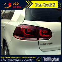 High Quality Tail Lights Case For VW Golf 6 2009 2012 LED Tail Light Rear Lamp