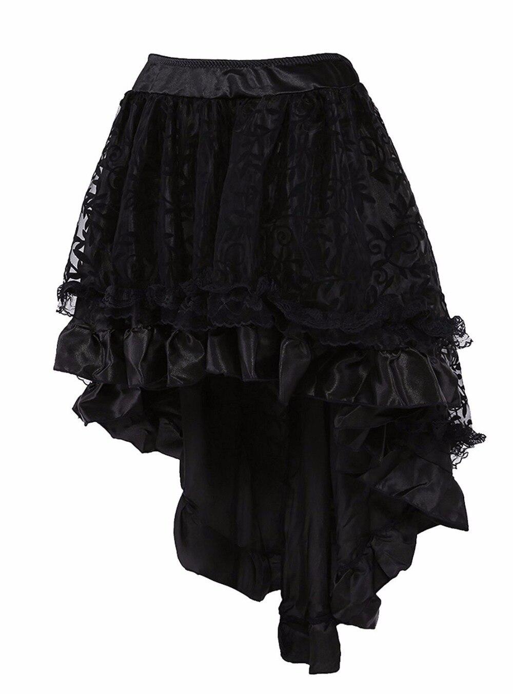 6XL Vintage Corset Dress Steampunk Dress Sexy Gothic Dresses Burlesque Skirt For Women