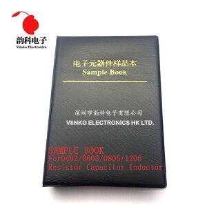 Image 2 - 1206 1% SMD Resistor Sample Book 1/4W 0R 10M 170valuesx25pcs=4250pcs Resistor Kit 0R~10M