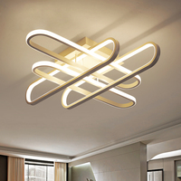 Surface Mounted Modern Led Ceiling Light Outdoor Lighting For Living Room With Remote Control Ceiling Lamp Light Fixture Bedroom