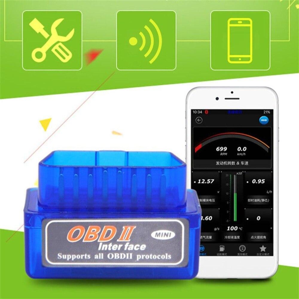 Cimiva Car ELM 327 Tester Diagnostic Tool OBD V2.1 ELM327 OBD2 Bluetooth OBDII 2 Auto Scanner for Android Windows Symbian J35