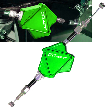 For Kawasaki KX450F KX 450F 2006-2018 2009 2010 2011 2012 2013 2014 2015 2016 2017 CNC Stunt Clutch Lever Easy Pull Cable System motorcycle stunt clutch lever easy pull cable system for yamaha xt660 x xt 660x xt660x 2004 2018 2010 2011 2012 2013 2014 2015