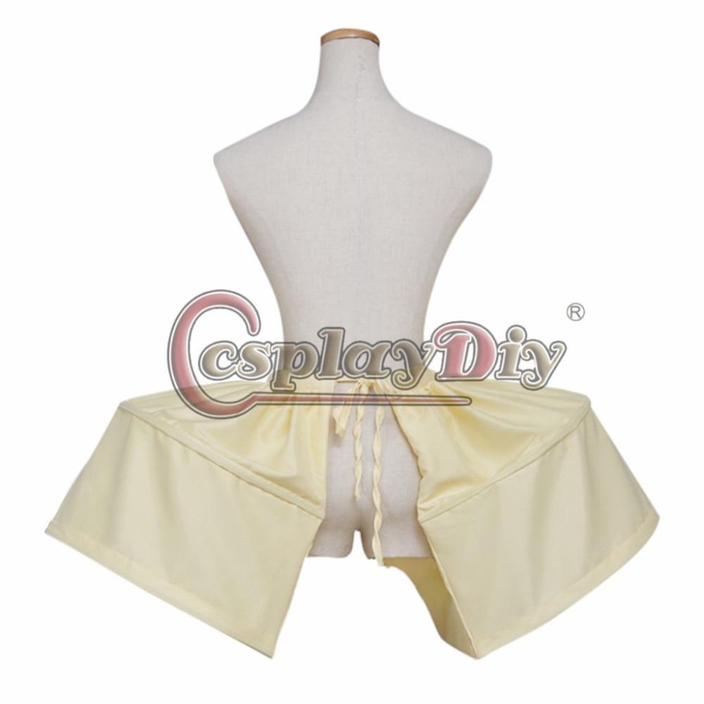 Gaun Rococo Crinoline Underskirt Rok Bunga Gadis Wanita Gaun Victoria - Kostum karnival - Foto 3