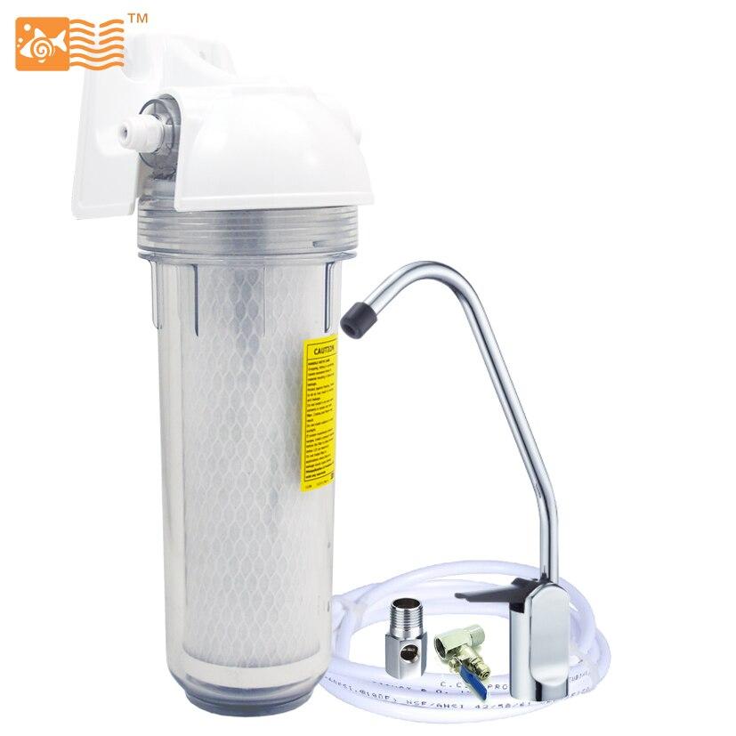 Coronflow Household Single Stage Undersink Water Filter System 0.5 micron Activated Carbon USF-01-C супермаркет] [jingdong подушка ковыль 3 придерживались кнопки туалета теплого сиденье для унитаза крышка унитаза 1g5865