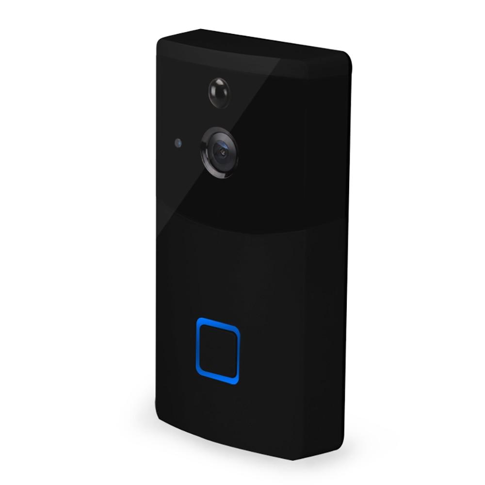 Купить с кэшбэком WIFI video doorbell camera wireless home intercom system ip doorbell alarm information push support IOS & Android system