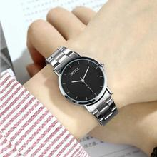 LinTimes 1pc Lovers Watches Stylish Alloy Business Quartz