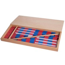 NEW Montessori Mathematics Material – Small Numerical Rods with Number Tiles