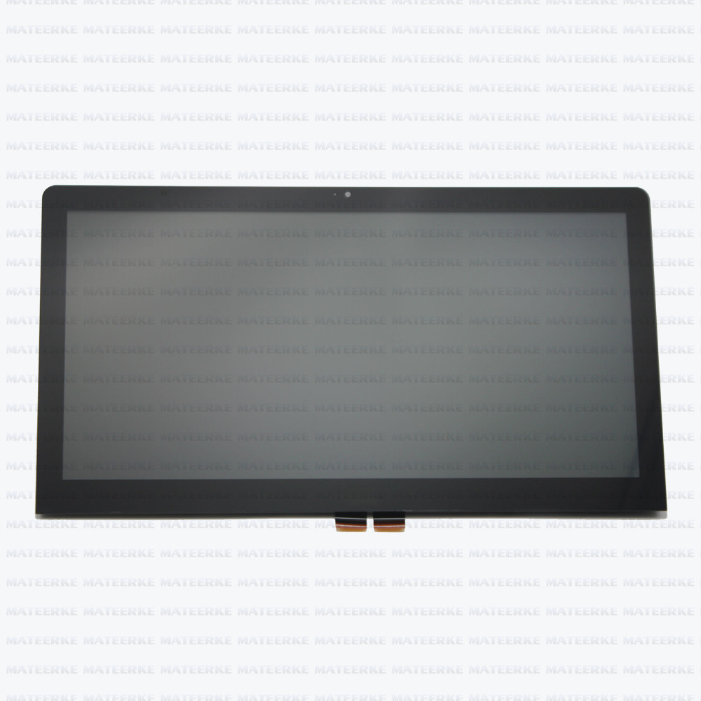 New lcd screen display assembly with touch screen glass digitizer for Lenovo Thinkpad S5 YOGA 15.6