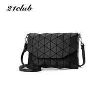2017 new small solid plaid geometric lingge envelope handbag hotsale font b women b font clutch