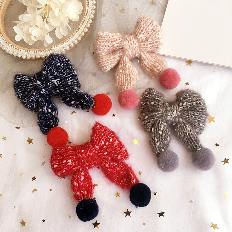 Korea Colorful Butterfly Flower Hair Clips Hairpin Hand Made Rim Accessories Bows Barrettes