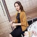 45 nueva primavera suéter chal capa Coreana chal de manga murciélago suelto de manga larga de punto cardigan F1075