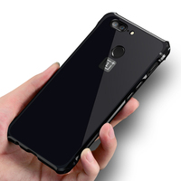For OnePlus 5T Case Cover Luxury Aluminum Metal Bumper Case Hard PC Cover Case Protective Phone