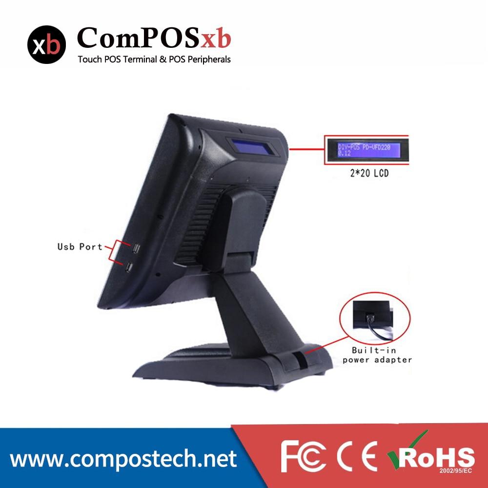 Monitor de pantalla táctil resistente del procesador Core i5 de alta - Periféricos de la computadora - foto 4