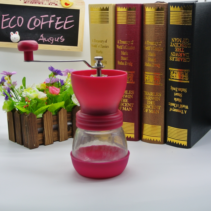 grinder manual Free Shipping Coffee grinder Coffee Accessories Four Colors for choosing manual coffee grinder