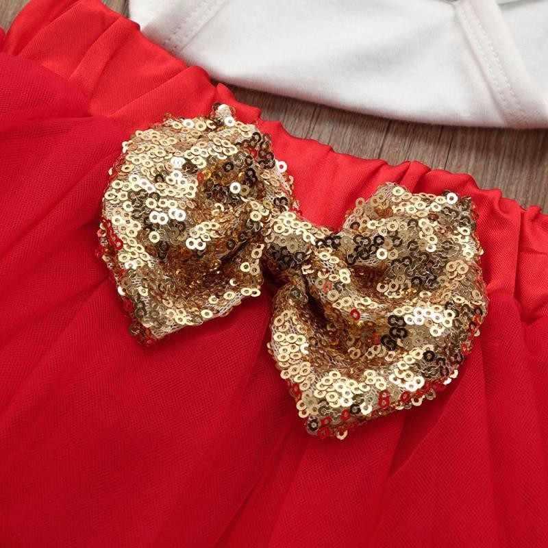 76e69020e ... 3Pcs Newborn Infant Baby Girl DADDY's Valentine Letter Romper Tops+tutu  Skirt+Headband Valentine's ...