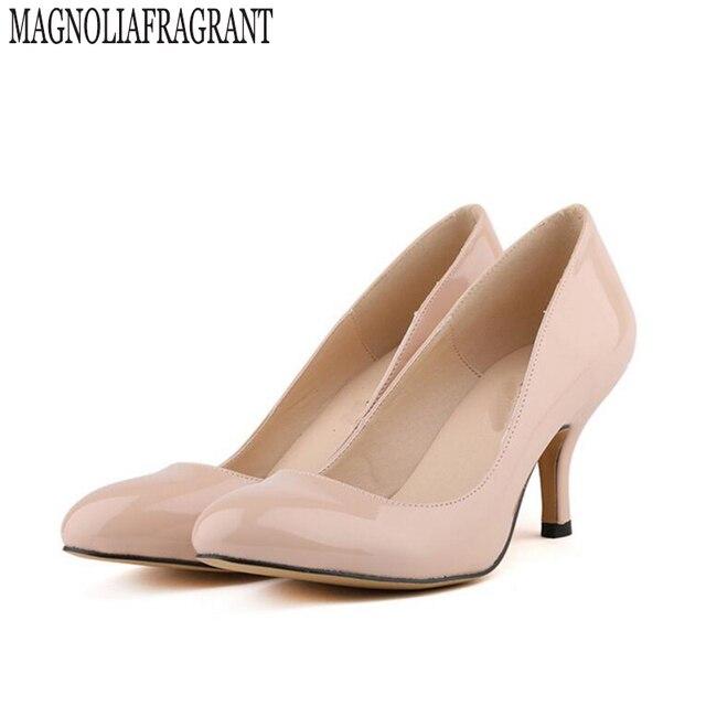 c3ab844db Модные женские туфли на низком каблуке Острый носок с открытым носком  Карамельный цвет дамы комфорт работы