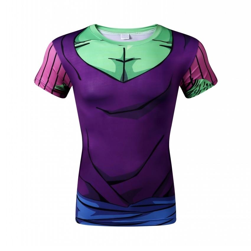 Promotion Cheap Men T Shirts Dragonball Z DBZ Anime Funny Design Casual Camisetas Round Neck Top Tees Man Tee Short Sleeve