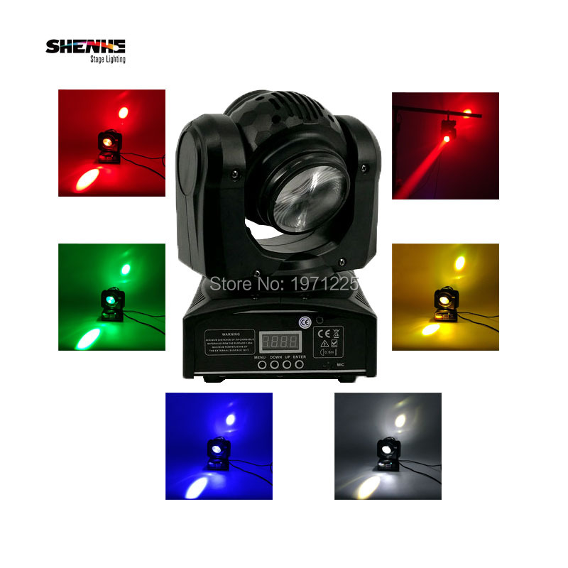 Beam Wash RGBW 4in1 DMX 512 15/21 Channels Double Sides 1x10W+1x10W Beam Moving Head Rotating LED Stage Light Lamp for Disco KTV