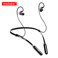 moloke Wireless Bluetooth Earphones Sport Stereo Headset Earbuds With Microphone For xiaomi Phone