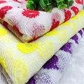 Бесплатная доставка хит продаж 3 цвета ширина 125 см полиэстер шелковые кружевные ткани с вышивкой с кружевной тканью