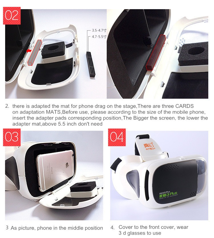 RITECH III + Virtual Reality 3D Glasses RIEM 3 Plus VR Headset Oculus Rift Google Cardboard 2 Goggles for 4.75.5-6 Smart Phone.jpg (21)