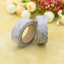 1pc grey Decorative animal Washi Tapes Paper DIY Scrapbooking Adhesive Masking 10m School Office Supply