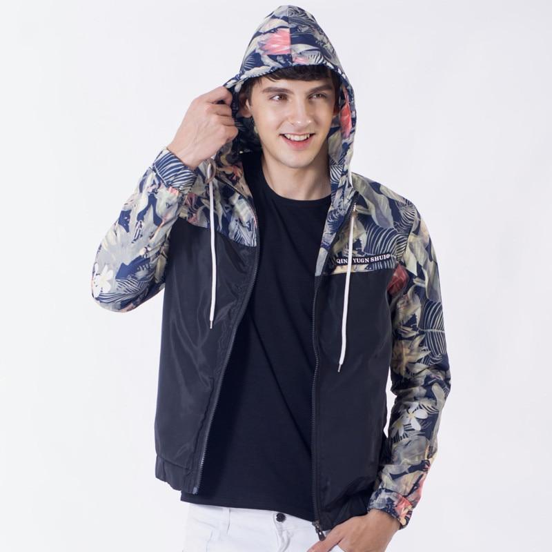 Aliexpress.com : Buy 2017 Floral Bomber Jacket Men Hip Hop Slim ...