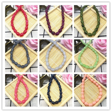 DIY 6x8mm 30pcs teardrop-shaped Glass Beads Pattern Spacer Loose Jewelry Making Wholesale Pick 27 Colors