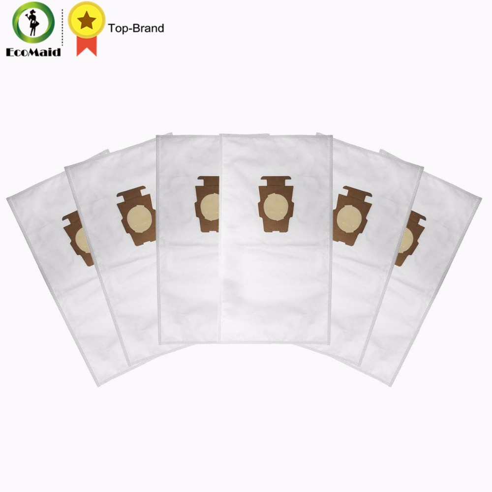 Dust Bag Vacuum Cleaner Part for Kirby Sentria 204808/204811 Universal F/T Series G10,G10E Dustbags for KIRBY Sentrial 6 bags 1 pcs for kirby sentrial f t dust bag for kirby universal bag suitable for kirby universal hepa cloth microfiber dust bags