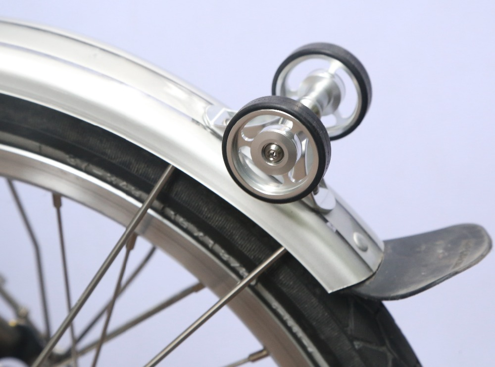 Image 2 - Brompton Mudguard Fender Bearing eWheels Rollers  Double-in Bicycle Wheel from Sports & Entertainment