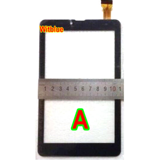 Witblue New touch screen For 7 inch Tablet fx-136-v1.0 Touch panel Digitizer Glass Sensor Replacement Free Shipping black new 7 inch tablet capacitive touch screen replacement for 80701 0c5705a digitizer external screen sensor free shipping