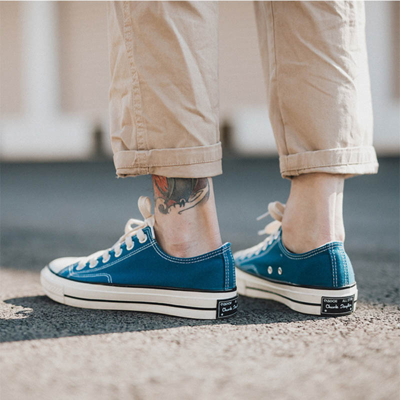 Men 39 s Casual Shoes 2019 New Comfortable And Breathable Men 39 s Shoes Unisex Flat Canvas Shoes Low To Help Women 39 s Vulcanized Shoes in Men 39 s Casual Shoes from Shoes