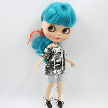 Neo Blythe Doll Camouflage Cloth