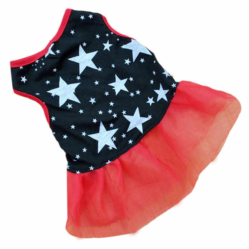 Nul Hot! Pet Dog Puppy Tutu Prinses Jurk Dot Kant Rok Party Kostuum Apparel Dropshipping Juni #6