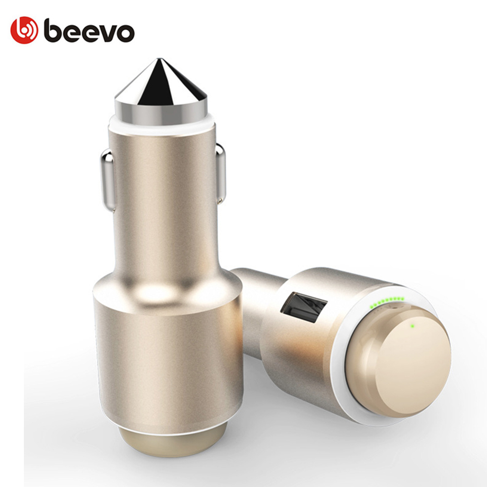 3 in 1 Car Charger Wireless Bluetooth 4.1 Earphones All-metal Advanced Mini Handsfree calls Safe Driving Mobile Phone Headset remax t9 mini wireless bluetooth 4 1 earphone handsfree headset for iphone 7 samsung mobile phone driving car answer calls